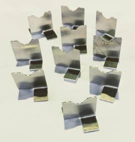 10 x Blitzableiterplättchen Antriebsrad / 10 x Lightning guards   - Bild vergrößern