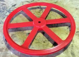 Keilriemenscheibe Grauguss / V-belt pulley cast iron - Bild vergrößern