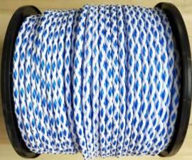 Schleppleine 200m blau weiss / Tow rope 200m blue white  - Bild vergrößern