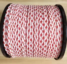 Schleppleine 200m rot weiss / Tow rope 200m red white  - Bild vergrößern