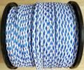 Schleppleine 200m blau weiss / Tow rope 200m blue white